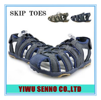 Fashio summer  children casual  sandals boys hallow out straped  pad shoes sandas