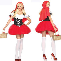 Christmas installation halloween clothes cosplay little red riding hood ds costume