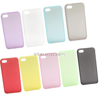 W7Tn Fashion Cell Phone Ultrathin Plastic Shell Case Skin for Apple iPhone 5 5G