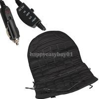Car Heated Seat Cushion Hot Cover Auto 12V Heat Heating Warmer Pad Winter H1E1