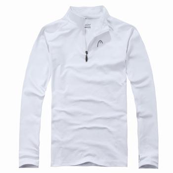 Granaries autumn sports - new arrival male half zipper mesh polo shirt s3311-j08
