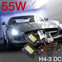 Xenon HID kit H11 H16 9005 9006 HB3 HB4 DS2 D1S D1C 4300K 5000k 6000k 10000k 12000K 55W DC Slim Digital ballast 12V