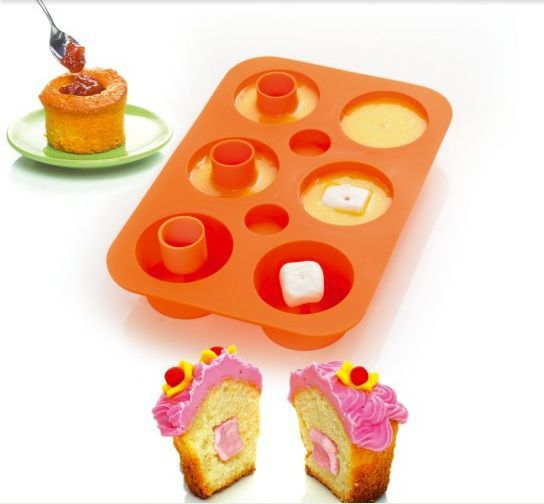 Silicone Bakeware Set cupcake maker donut mold cake tools,CUPCAKE SECRET, Bakeware cake tools as seen on tv , color box packing(China (Mainland))
