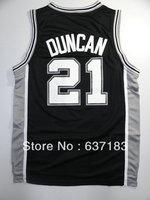 Mens Cheap #21 Tim Duncan White/Grey/Black Sports Jerseys,2013 San Antonio Team Basketball Shirts,Embroidery Name.Free Shipping