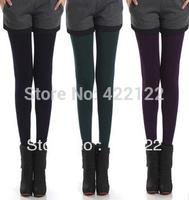 Winter full fat women sexy tights/leggings/panty/knitting/pantyhose in long stockings trousers-ninth pantsTT012-1pcs