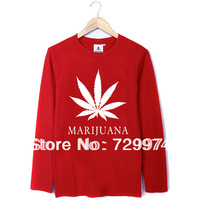 Bob Marley MARIJUANA  thick cotton t shirt vintage fashion