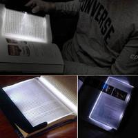 2013 New Magic Night Vision Light LED Reading Book Flat Plate Portable Car Travel Panel
