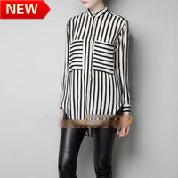 new 2013 flower printed brand blouses innovative items tops shirt women body fashion women work  shirt bk633