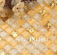 ice crack crystal mosaic