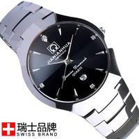 Swiss watch carnival tungsten steel table male watch commercial watch waterproof mens watch 8620