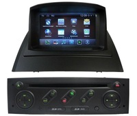 Autoradio  gps for Android Renault Megane II  with V20- disc/DVD/Bluetooth/Radio/TV/GPS/3G/Wifi/Android ! Newly!