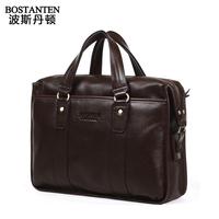 Free Shipping Cowhide Messenger Bag Handbag MaleHigh Quality  Commercial Genuine Leather Laptop Bag  Fashion Briefcase Bag