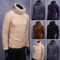 2013 New Arrival All-Match Classic Winter warm sweater coat Men knitting Polo-Necked Collar Turtleneck Sweaters Free shipping
