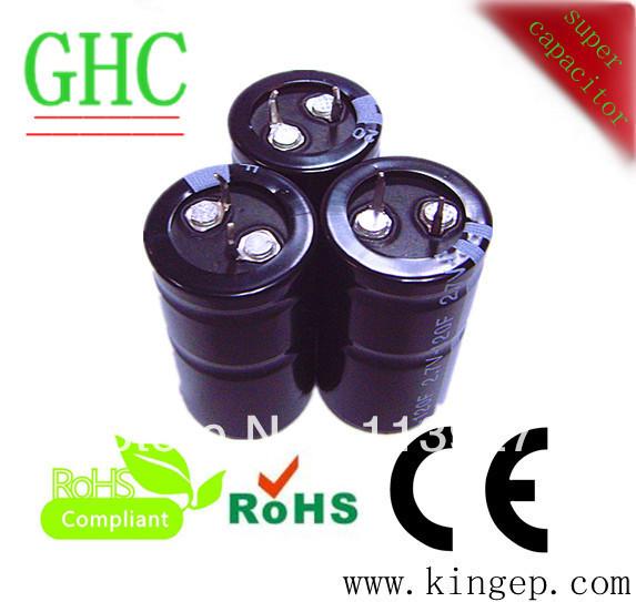 Large super capacitor 120 farad 2.7v for car audio(China (Mainland))