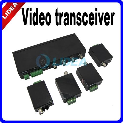 DC 12V 4CH 4 Channel UTP Receiver Active Video Transceiver RJ45 EMS B-30(China (Mainland))