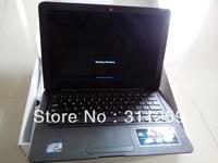 Window 7 Os 13.3inch Notebook Intel Atom N2500 Dual Core Cpu Laptop with 4gb ram+500 gb hd