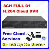 HD Full D1 8CH H.264 Real-time Security CCTV DVR Remote Surveillance Connect Internet Via Cloud 7708H Standalone DVR