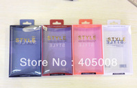 50pcs Free Shipping OEM Retail Packaging Blister Box for galaxy S4,for Nokia,for Blackberry Cell Phone Case Retail Box