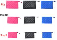 Wholesale new 2013 women diamond lattice handbag cosmetic bag lady casual bags handbags C4