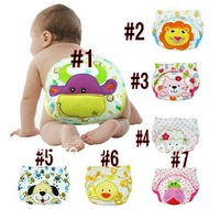 Freeshipping Hot selling wholesale carter's 4 layers baby training pants boys underwear diaper covers