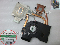 New Free Shipping For HP DV6-6000 DV6-6050 DV7-6B DV7-6C fan heatsink 641578-001 MF60120V1-C180-S9A