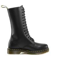 New 2013 Dr. Authentic Martens1914 BOOT BLACK SMOOTH Genuine Leather Women's Autumn and Winter Boots  Free