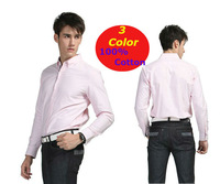 New 100% cotton   Men  Dress Slim  Fit  long sleeve shirts  Plain Oxford    YT12090005  XS S  M  L XL  XXL XXXL