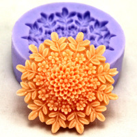 Nicole f0127 - glue mini resin flower polymer clay sugar chocolate candy ice cube tray mould soap flower