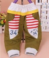 For shipping EW11  Digital 34 casual pants waist pants Naples Children's Clothing Pants full length