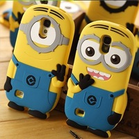 4 style high quality hot New cartoon movie Despicable Me 2 IMD luxury hard case cover for samsung Galaxy S4 i9500