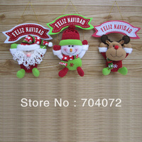 wholesale-Free shipping 2013 High-grade fabric Christmas ornaments, decorative, crafts gift