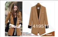 2013 Autumn Female Suit Jacket Female Coat Long Sleeve Fashion Temperament Of Cultivate One's Morality
