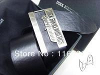 Free shipping 2013 dirk bikkembergs Genuine Leather mens belt cowskin waistbelt sash Genuine leather belt buckle fasion