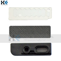 20set/lot 100% New Original high quality Earpiece Anti-dust Mesh with Bracket for iphone 5 5G