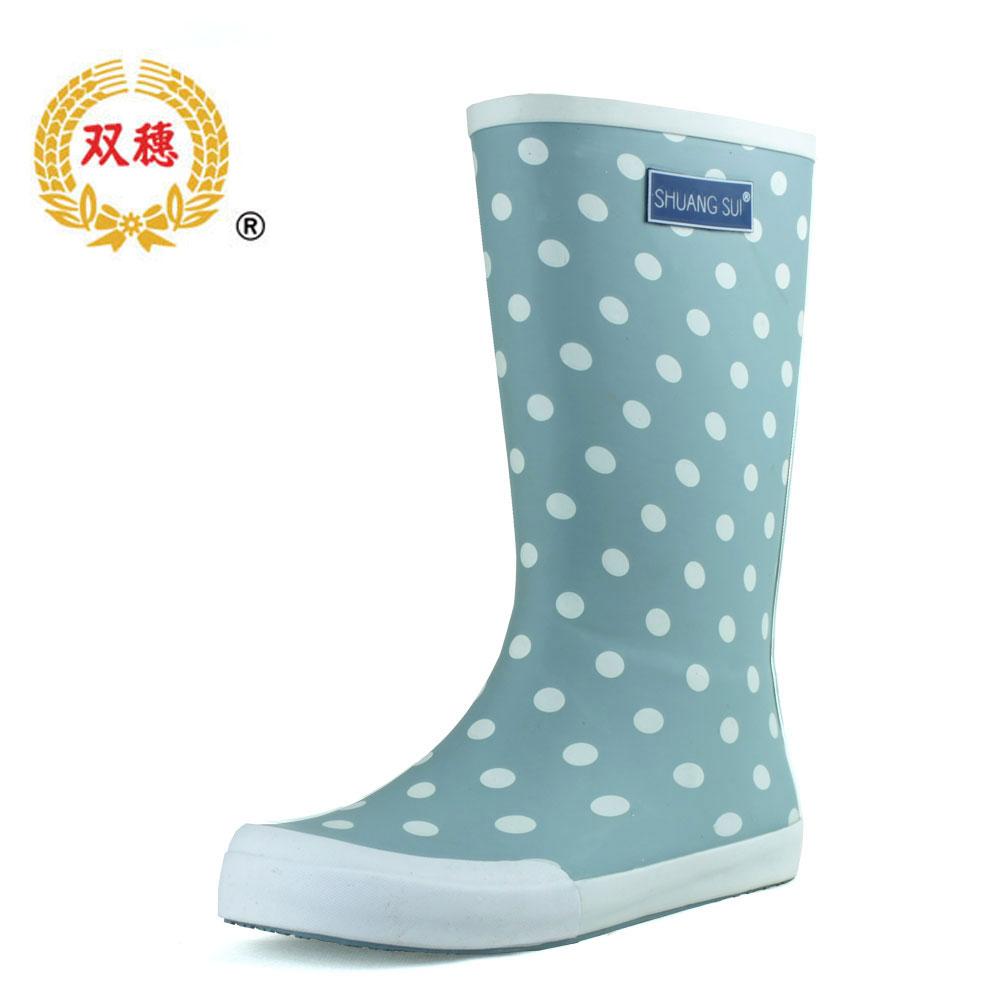 Polka Dot Rain Boots P...