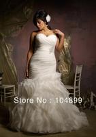 Style 3124 Ruffled Organza  Increase code   Wedding Dresses