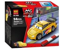 Cartoon Cars Gorvette Bela 10005 54pcs building blocks 3D DIY assembling educational toys; Compatible with LEGO; FREE SHIPPING