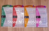 Colorful plastic Retail package packaging box bag boxes for iphone 3G 3GS 4 4G 4S 5 5G Galaxy S4 S3 S2 500pcs DHL free shpping