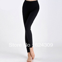 Free shipping Winter Warm Fiber  Brushed Nine points Pants  No Pilling No deformation Warm pants Leggings Soft and slim