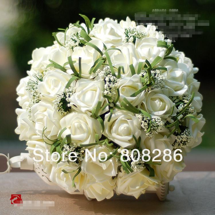 Wholesale Retail Colorful Bridal Bouquet Wedding Flowers High