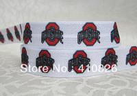 WM ribbon wholesale/OEM 5/8inch 928020  folded over elastic FOE 50yds/roll free shipping