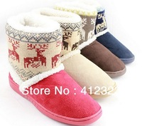 women girls lady winter snow warm boots Short Plush fashion Elk snow Shoes For Winter