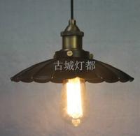 Modern vintage loft small protected pendant light personalized study light