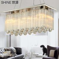 BEST glass crystal pendant light  for living room bedroom restaurant  lighting pl7133-a