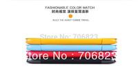 Free Ship! Original Genuine NILLKIN Slim Flip Leather Fresh Case Skin Back Cover for Lenovo A850+20pcs screen films