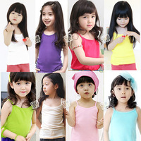 2013 summer candy all-match girls clothing baby child spaghetti strap vest tx-1045