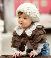 child yarn cape scarf muffler scarf full cloak cape autumn and winter