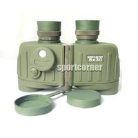 Miliary army Waterproof 8X30 WP Battalion Tactical Binoculars w/Rangefinder & Compass telescope binocular