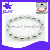 2014  TREADY Gus-HTB-003  newest fashion and health care MAGNETIC  hematite BRACELETS by hand-knitted working