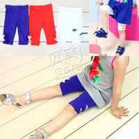 2013 summer cutout bow girls clothing baby 5 kz-0900 legging